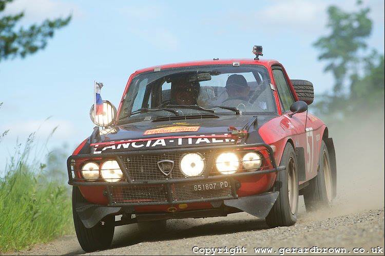 Lancia Fulvia Peking Paris