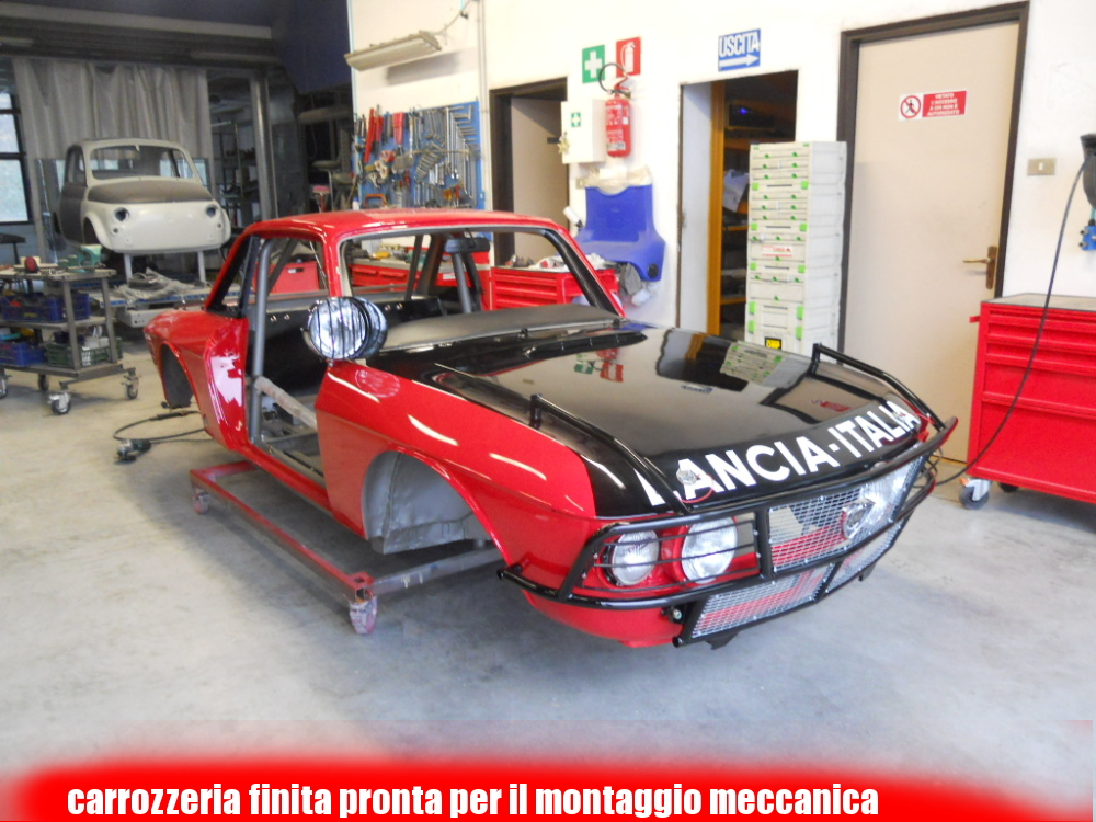 Lancia Fulvia Peking Paris 2013